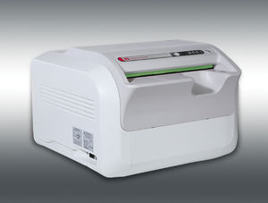 compact phosphor screen scanner / tabletop