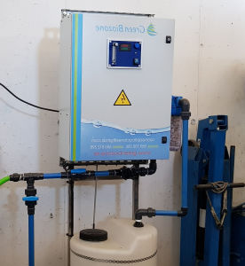 disinfection ozone generator / for livestock farming / self-starting