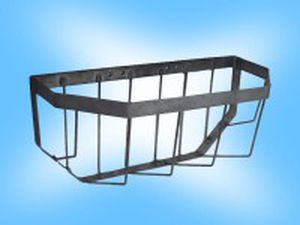 calf hay rack / metal / multi-access