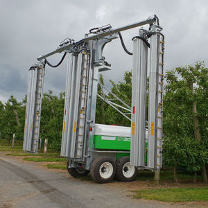 trailed crop sprayer / for arboriculture / folding arms
