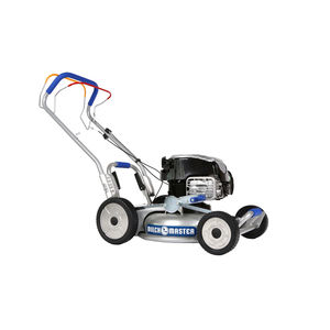 push lawn-mower / gasoline / self-propelled / for sloped terrain