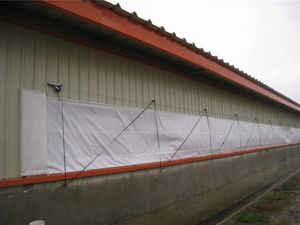 wind protection curtain