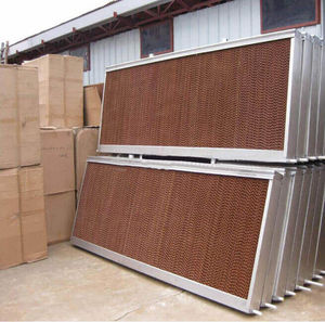aviary evaporative cooling pad