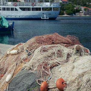 basin separation aquaculture net