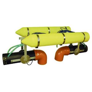 aquaculture aerator / floating / tubular