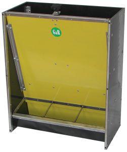 piglet feeder / polyethylene / stainless steel / multi-access