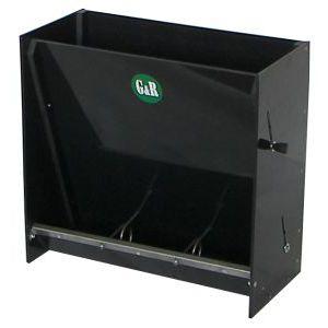 piglet trough / sow / polyethylene / stainless steel