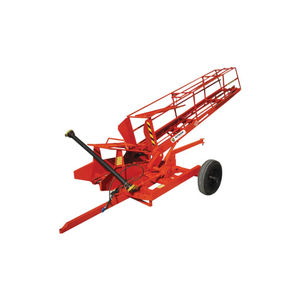 square bale loader / rectangular / trailed