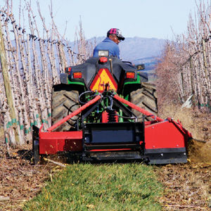 mounted mulcher / flail / PTO-driven / for tractors