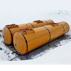 fuel tank / horizontal / in-ground / steel