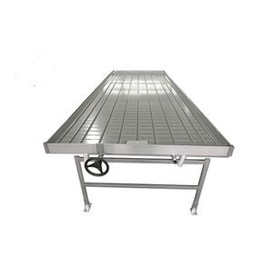 ebb-and-flow greenhouse bench