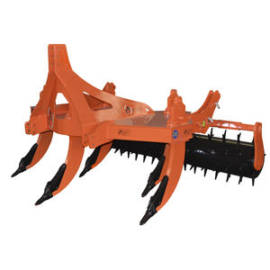 5-shank subsoiler / 3-point hitch / with roller / fixed