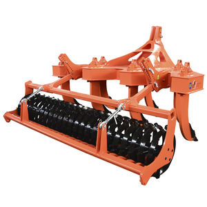 7-shank subsoiler / 3-point hitch / with roller / with hydraulic adjustment