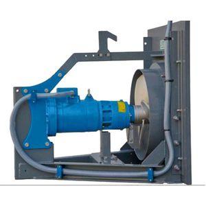 horizontal slurry mixer