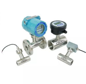 paddle flow meter / for wastewater / battery-operated