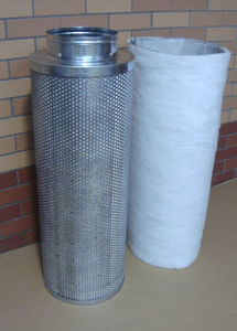 activated carbon irrigation filter / steel