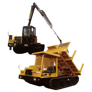 slope forestry forwarder