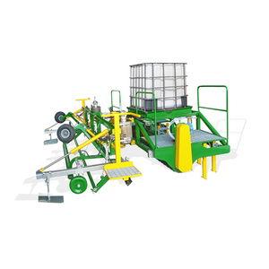 automatic plastic mulch unroller