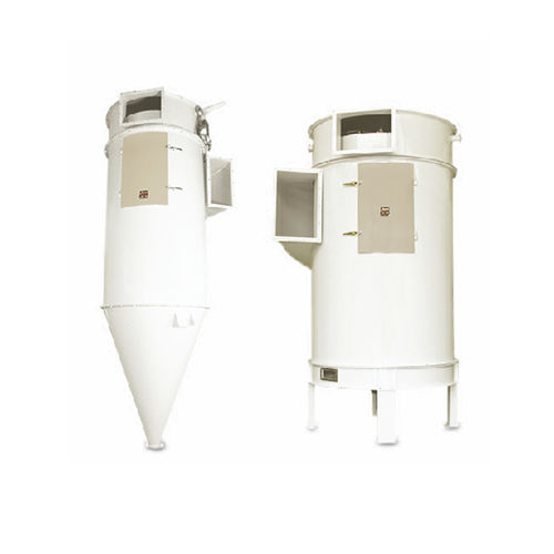 silo dust collector / round / cyclone