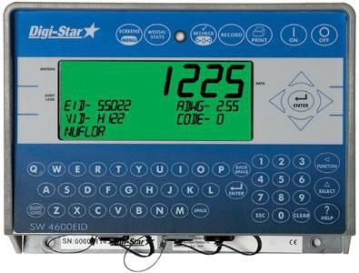 weight indicator / keypad / digital / for tractors