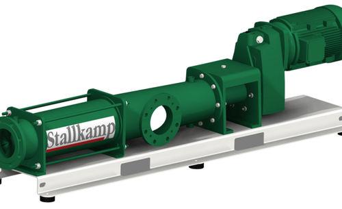 irrigation pump / stationary / eccentric screw