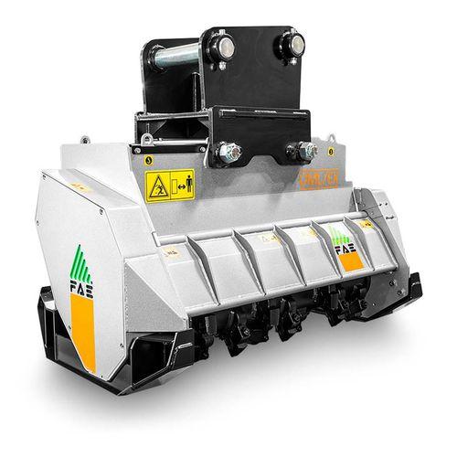 mounted mulcher / hammer / hydraulic / forestry