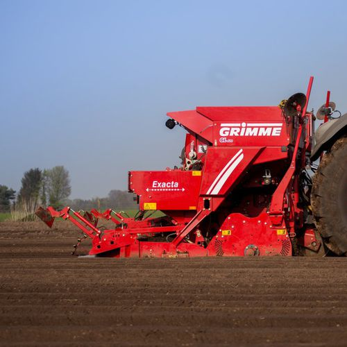 potato planter / automatic / 4-row / towed