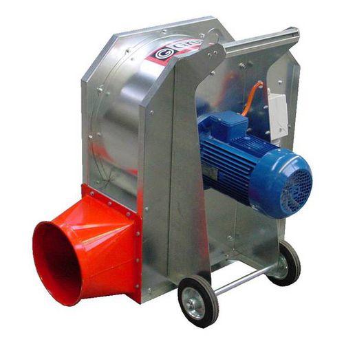 mobile grain blower