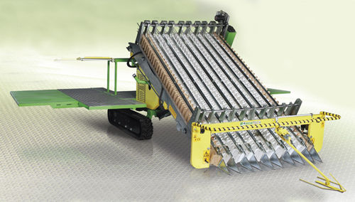 spinach harvester / baby leaf / parsley / self-propelled