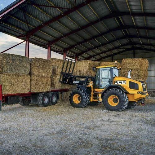 rubber-tired loader - JCB