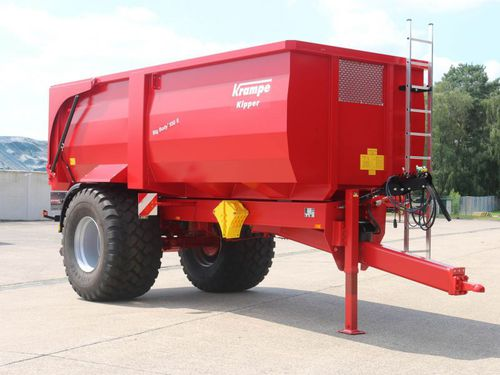 dump trailer / single-axle / agricultural / 13 ton