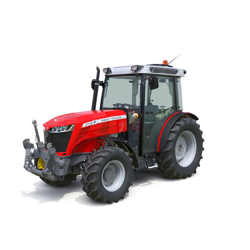 mechanical transmission tractor / compact / with cab / 3-point hitch