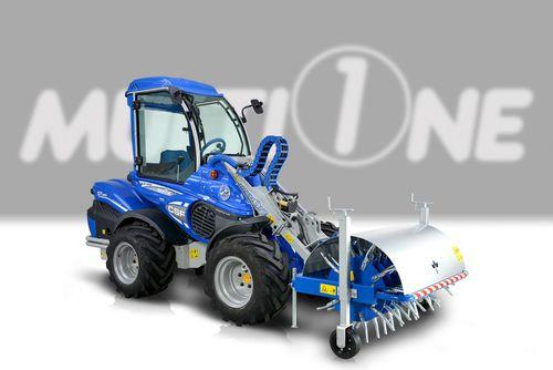 mounted soil aerator