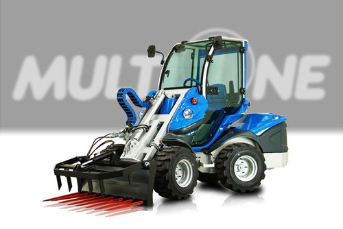 silage fork / with hydraulic adjustment