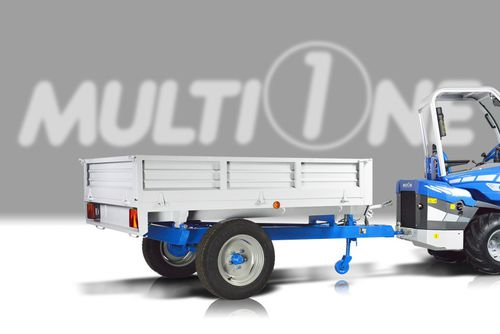 dump trailer / single-axle / agricultural / 0 t...10 t