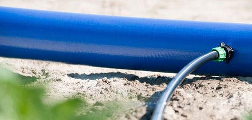 hose / drip / plastic / flat