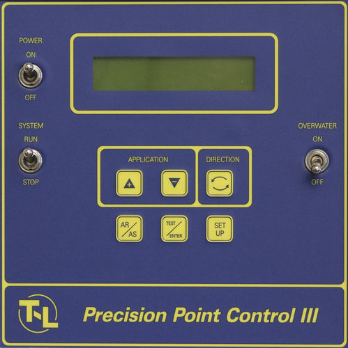 center pivot irrigation control panel / digital / with integrated GPS