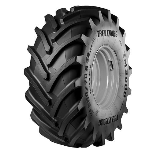 harvester tire / for combine harvesters / self-cleaning / R-1