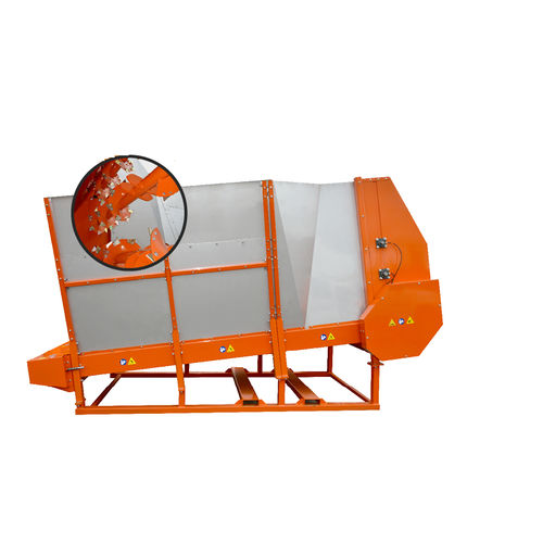 vertical feed mixer / stationary / feeding / 3-auger