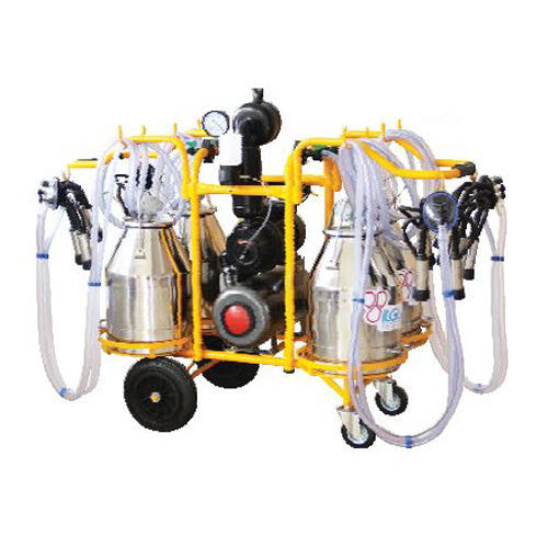 cow milking machine / mobile / electric motor