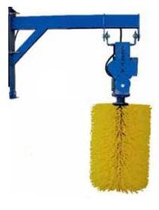 livestock comfort brush / rotating / cows / vertical