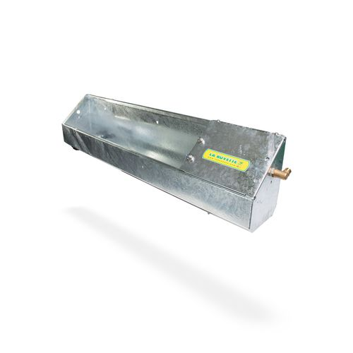 sheep waterer / for goats / trough / galvanized steel
