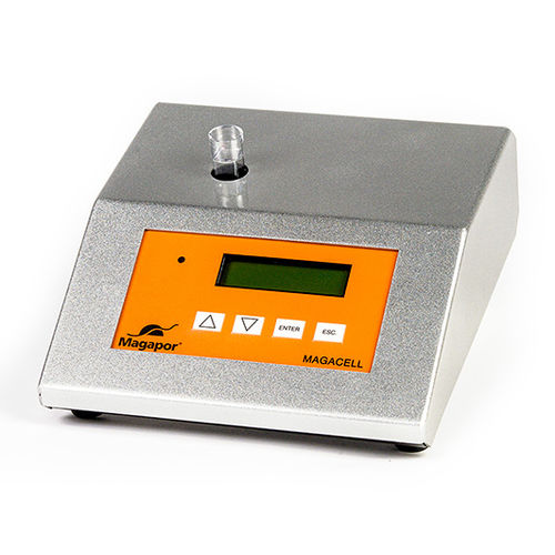 semen counting unit with digital reader