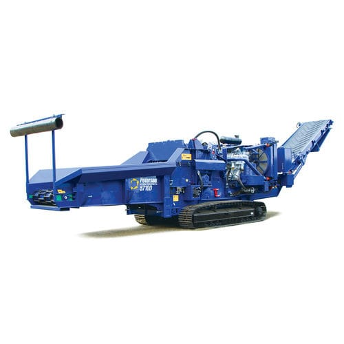 self-propelled bio shredder / with combustion engine / tracked