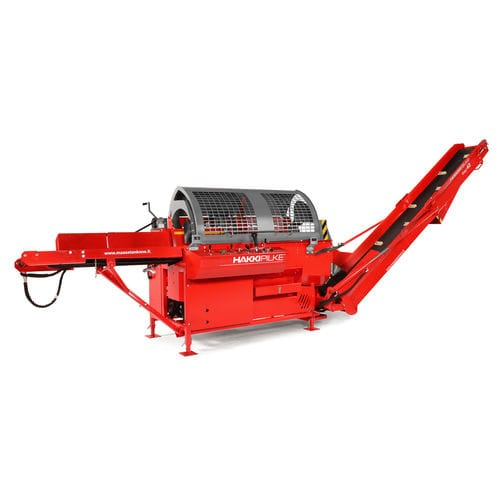 firewood processor with chainsaw