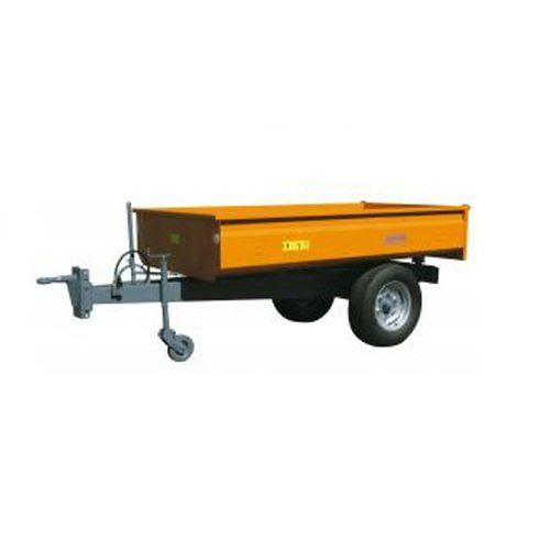 dump trailer / single-axle / agricultural / 0 t...10 t