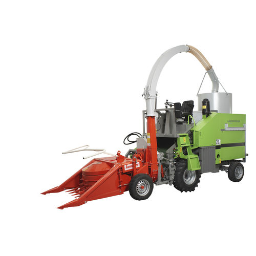 forage plot harvester / corn / self-propelled / for research