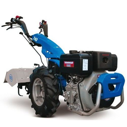 hydraulic rototiller / with hydraulic adjustment
