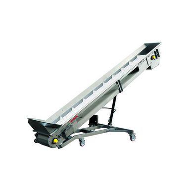 pomace elevator / belt / mobile / curved