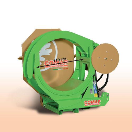 tractor-mounted bundling machine / PTO-driven